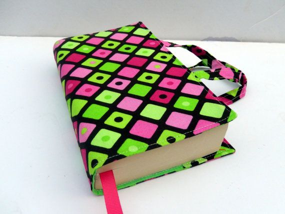 Paperback Fabric Book Cover with Handles