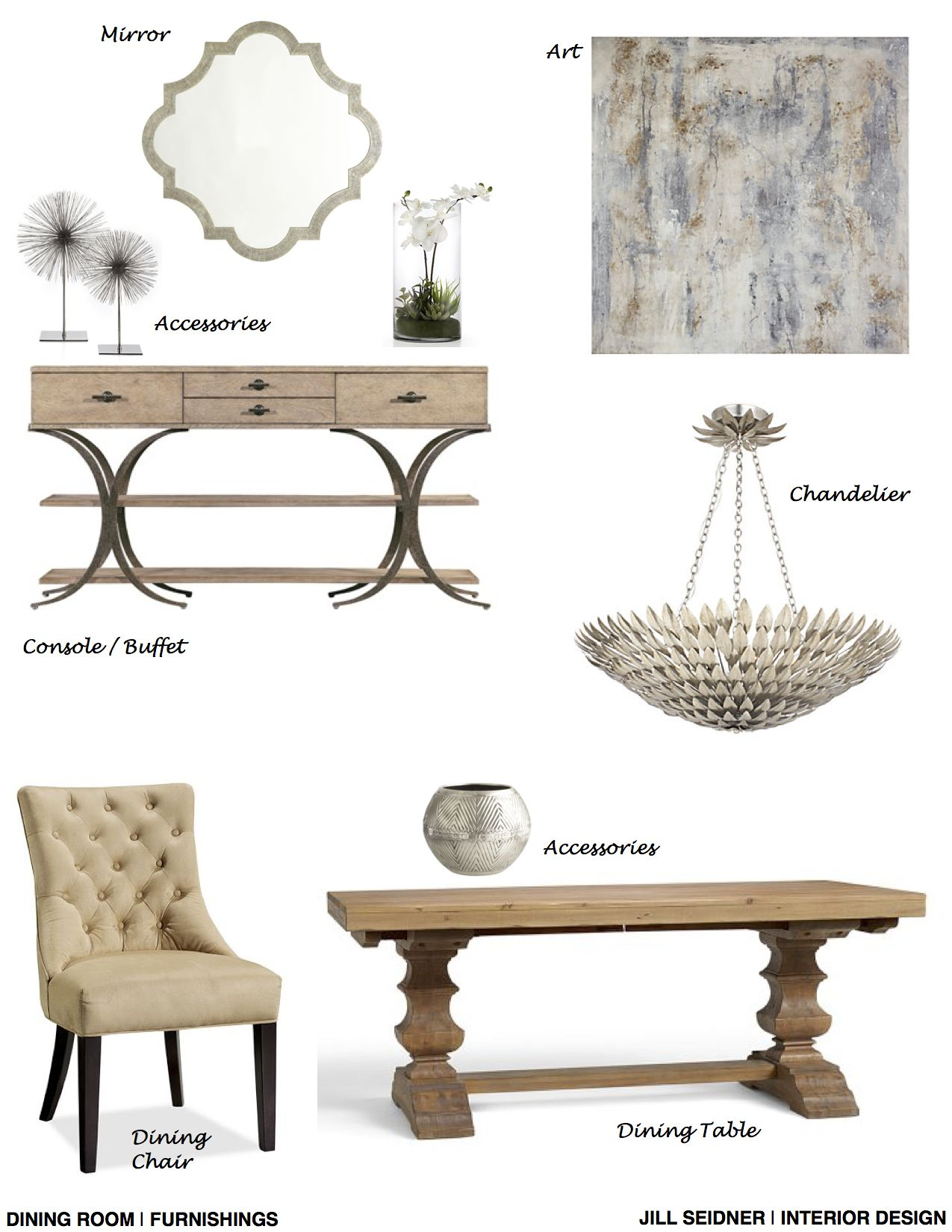 Columbus, GA Online Design Project Dining Room Furnishings Concept ...
