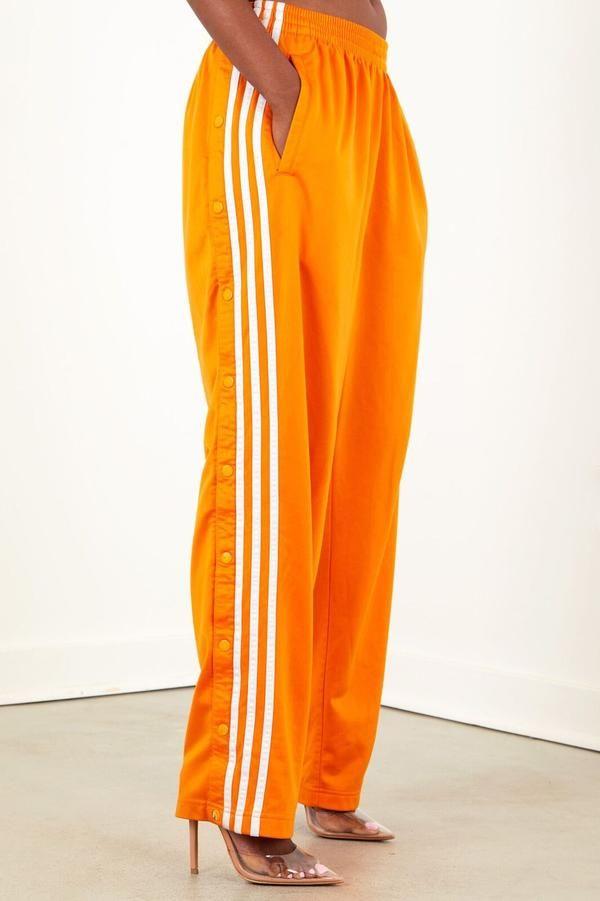 0e78032a7b98a Vintage Orange Adidas Nylon Pants | Stuff to buy in 2019 | Pants ...