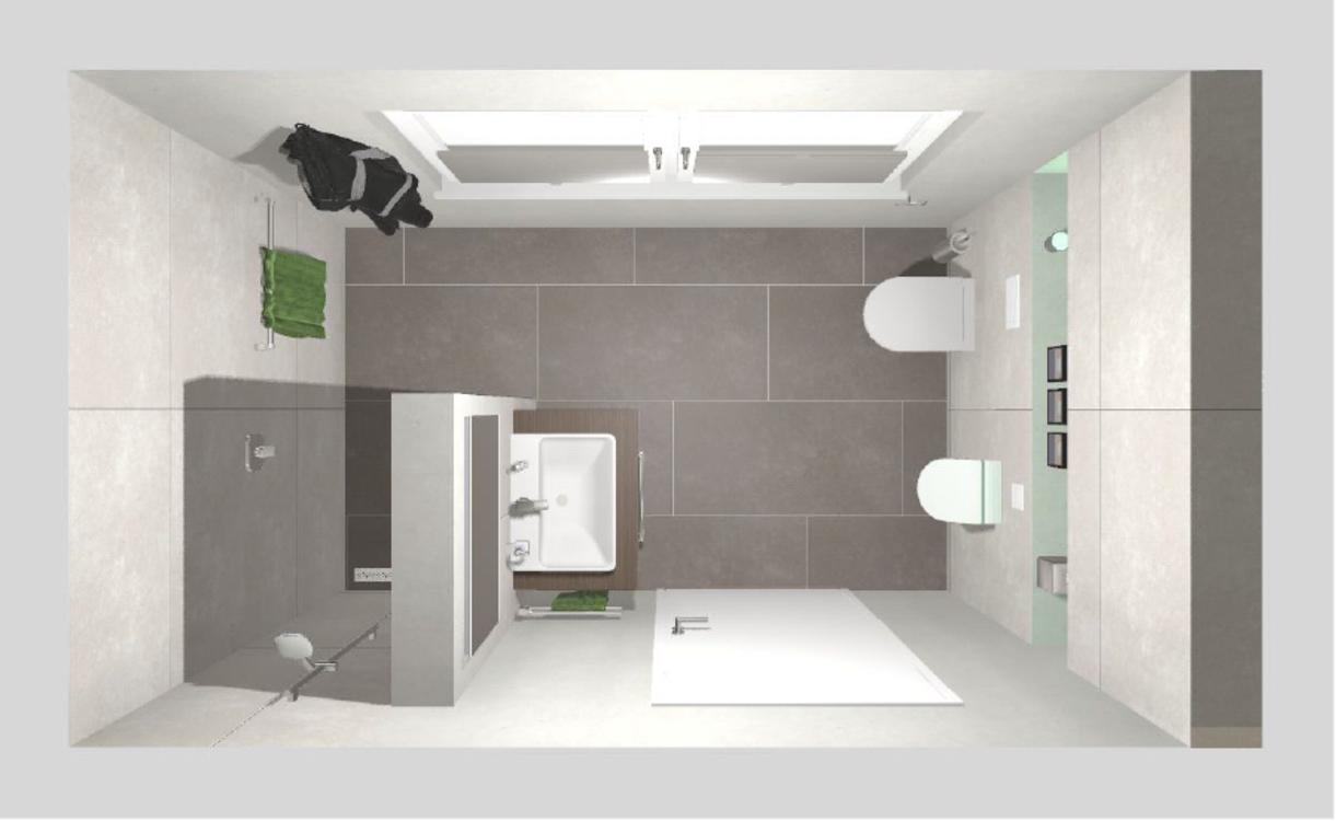 Frieling Das Gästebad mit Dusche 7 qm (mit Bildern