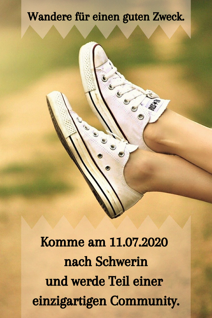 Wandere 61 km rund um den Schweriner See für einen guten Zweck. #wandern #fitness #schwerin #heldenm...