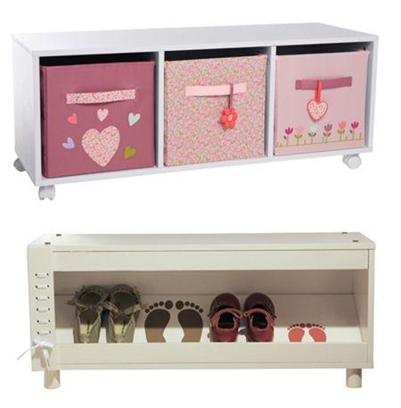 Muebles de almacenaje para ni os muebles infantiles for Muebles de madera para ninos