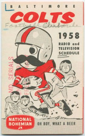 Baltimore Colts 1958 schedule
