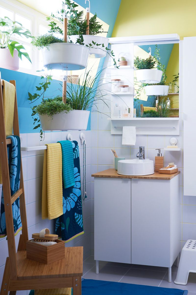 Sommer Im Badezimmer Ikea Badezimmer Kleines Badezimmer Umgestalten Badezimmer Inspiration