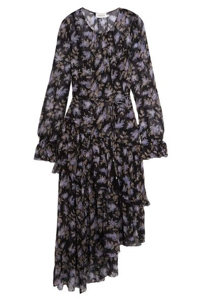 51eceeeb4c0 ZIMMERMANN Ruffled floral-print silk-georgette dress.  zimmermann  cloth   dresses