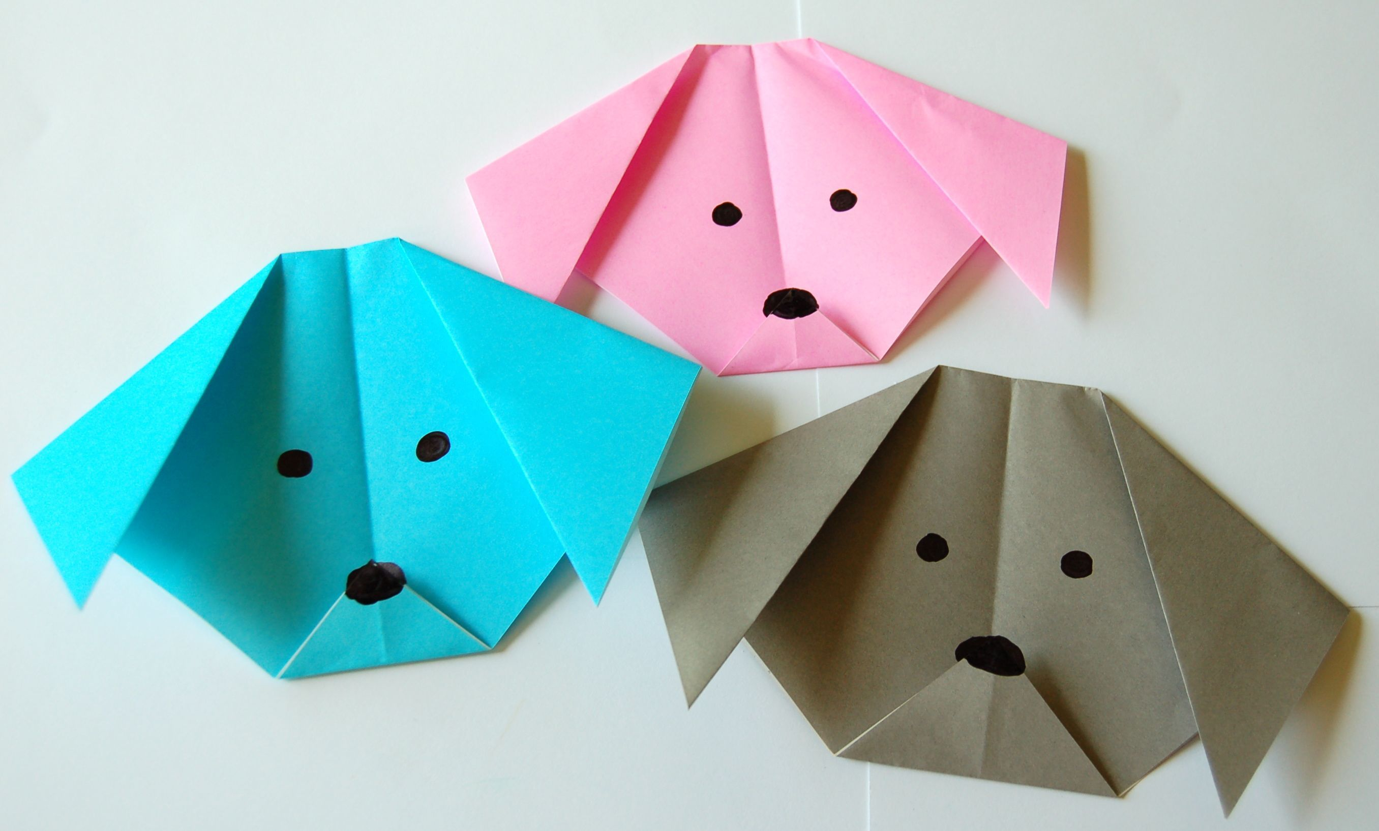 How to make a Paper Dog (Tutorial) Paper Friends 38