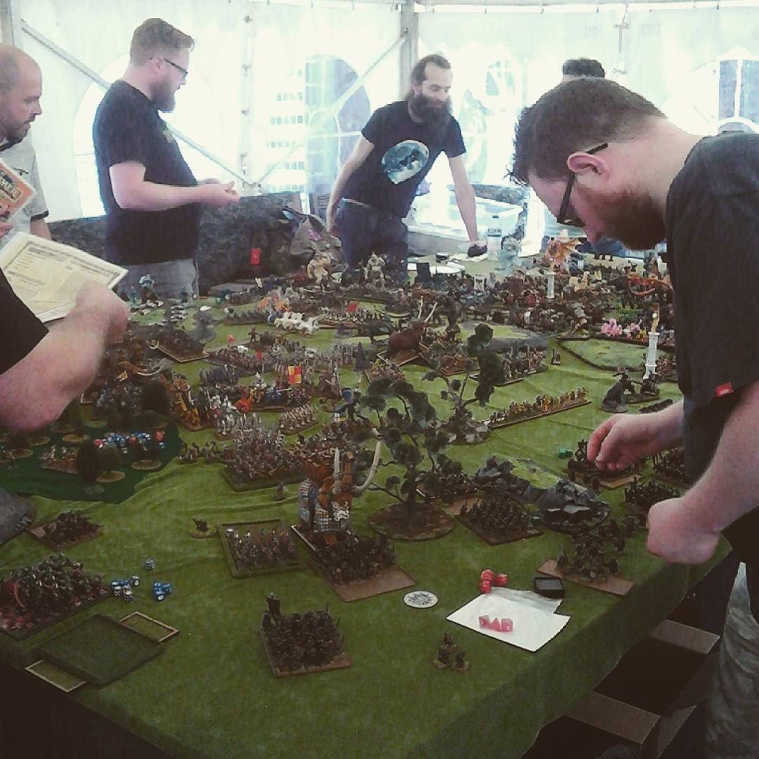The epic scale of warhammer Fantasy battle is still going