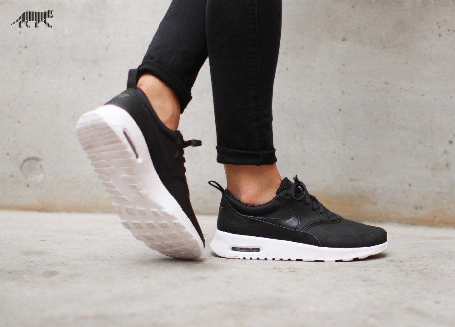 finest selection 5090a d7ca3 Nike wmns Air Max Thea PRM (Black  Black - Anthracite - White)