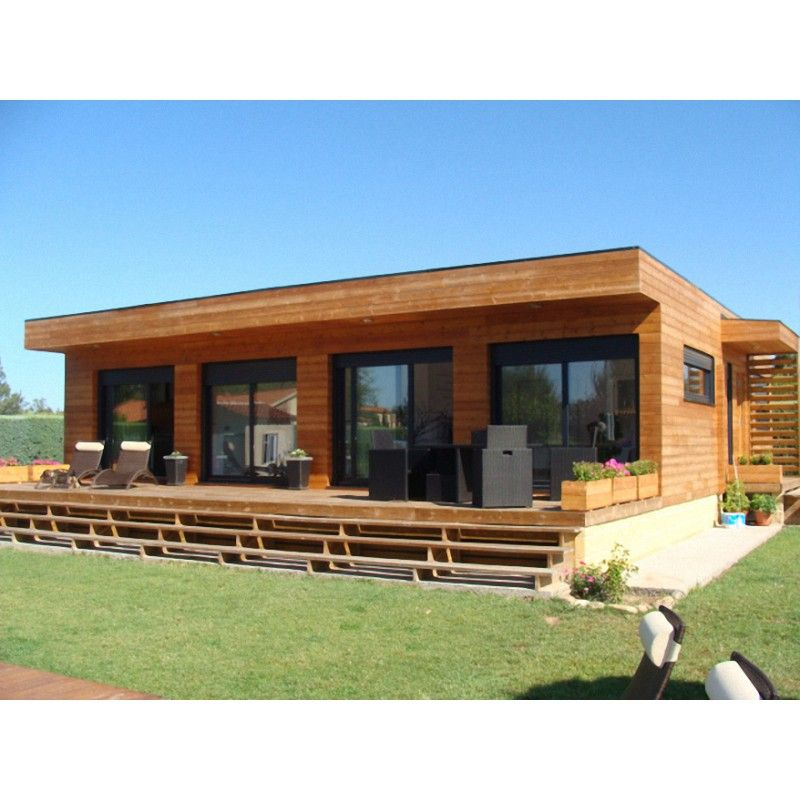 Maison bois design contemporain Galaxy 80 m2   Maison bois ...