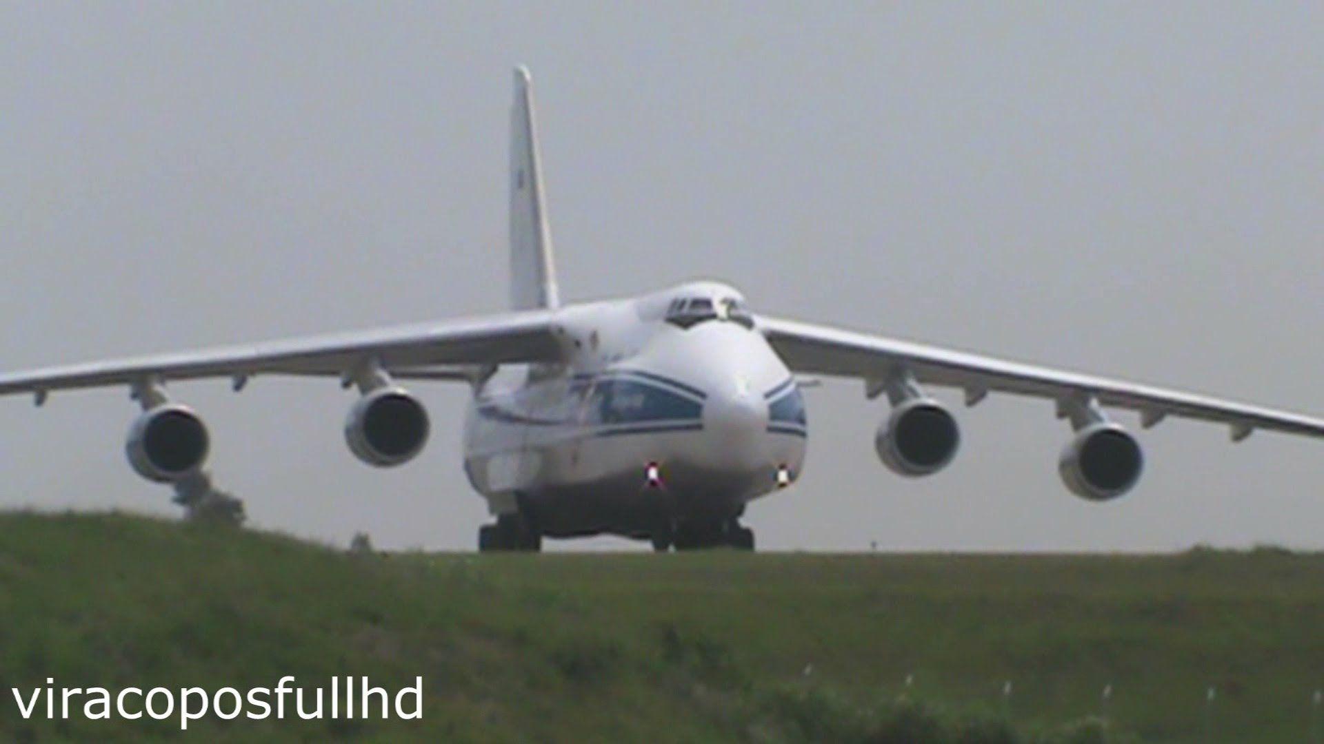 Decolagem em Campinas Viracopos ANTONOV AN-124-100
