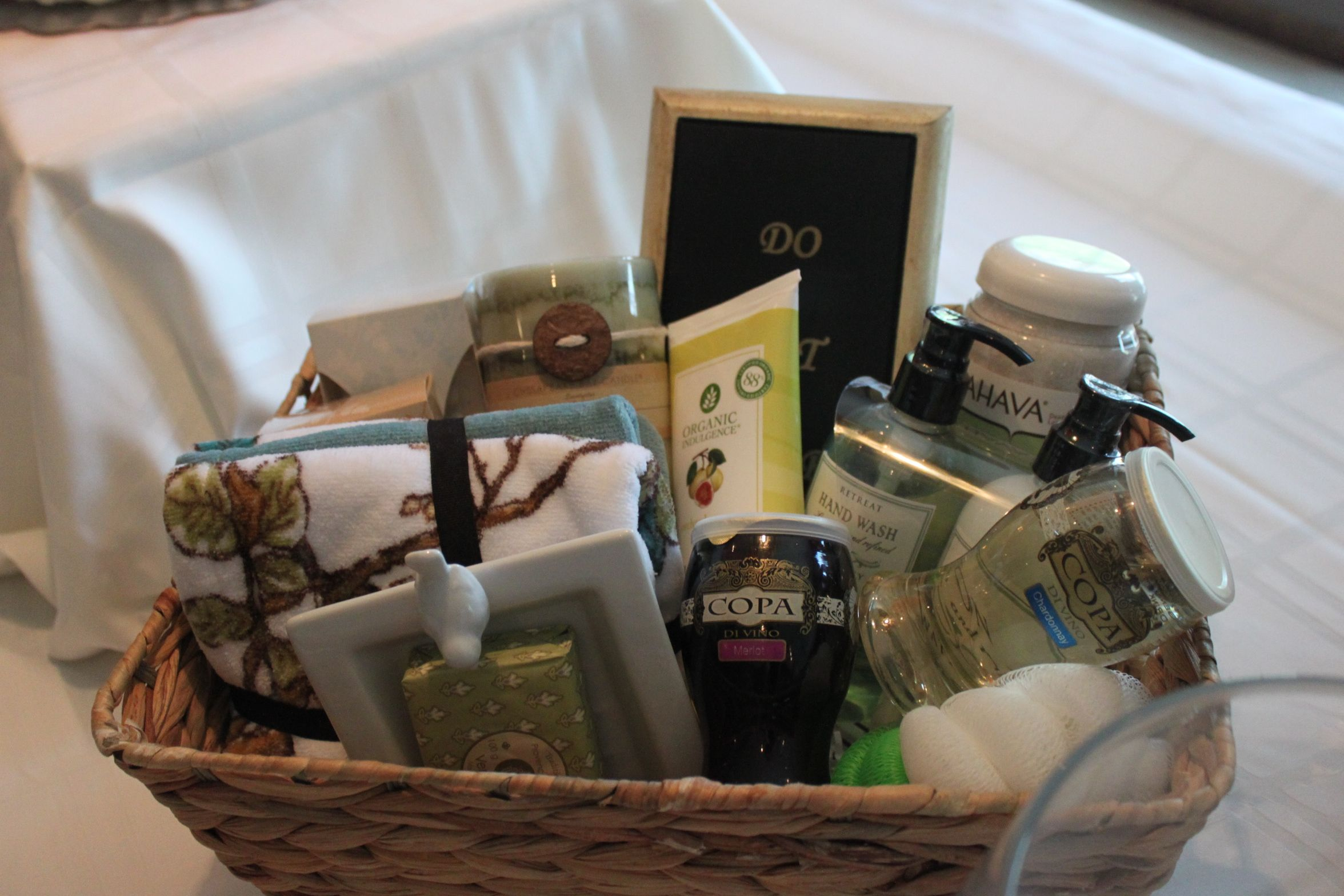 Bathroom Gift Spa Bathroom Gift Basket For Diaper Raffle Diy Pinterest