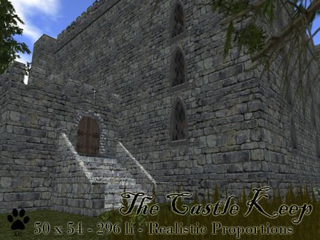 Second Life Marketplace - The Castle Keep - By AlleyCat Studios