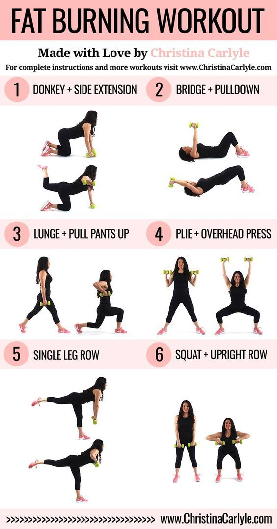 Fat Burning Workout Routine for Women   Health