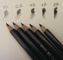 Mit Dem Wasservermalbaren Bleistift Graphite Aquarelle Lassen Sich