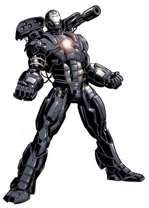 War Machine (James R. ''Rhodey'' Rhodes)