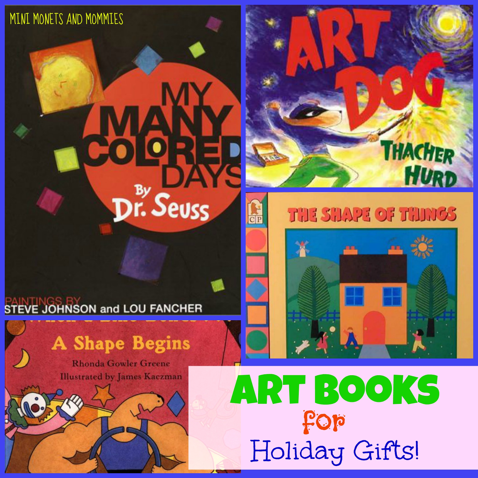 Books about color for kids - Children S Picture Books About Art Colors And Shapes Holiday Gift List Along With Arts