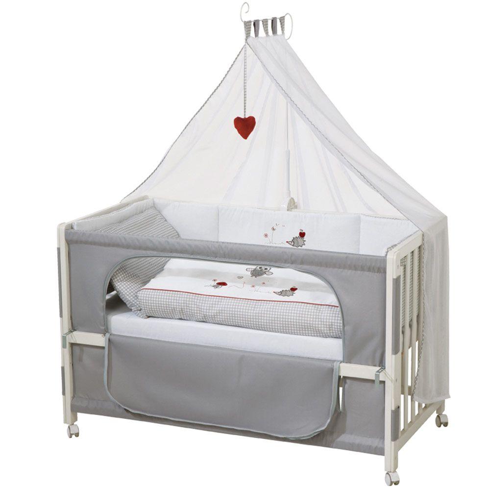 Roba Room Bed Weiss Inkl Zubehor 60 X 120 Cm Adam Eule Beistellbett Bett Ideen Und Babybett