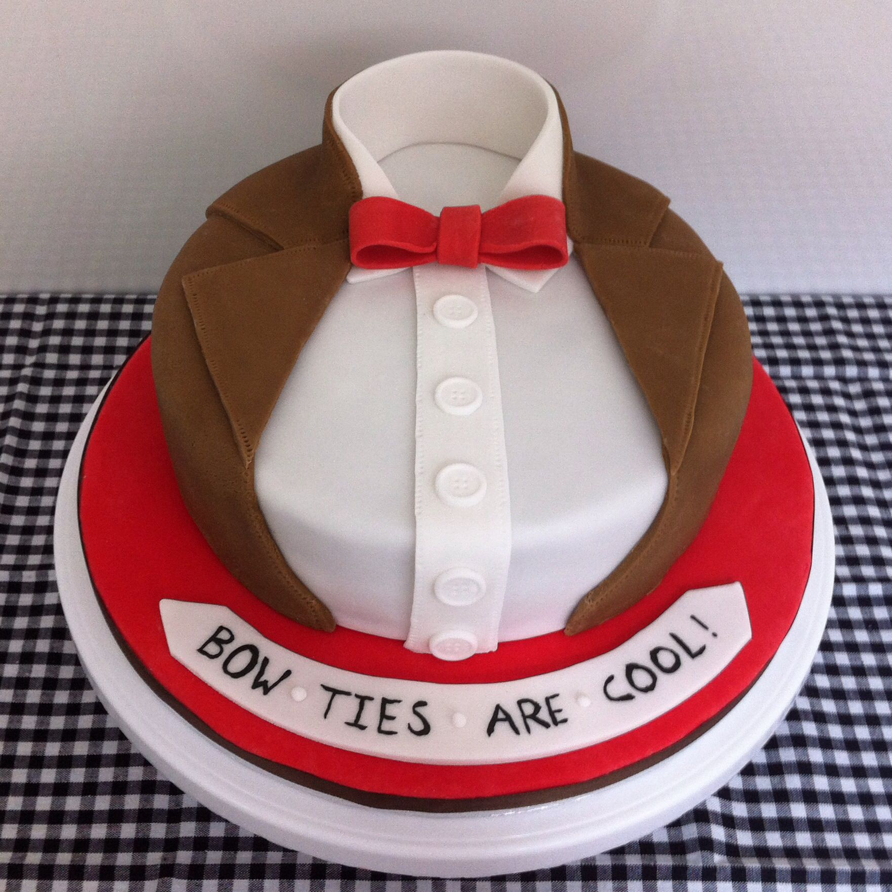 Doctor Who Bow Ties Are Cool Cake Recipes To Cook Pinterest