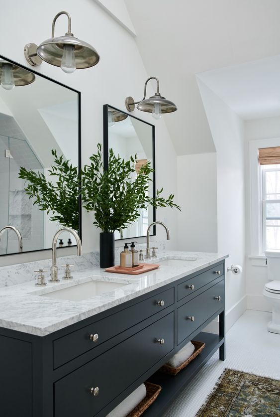 Bathroom Design - Amber Interiors - #bathroom #homedecor