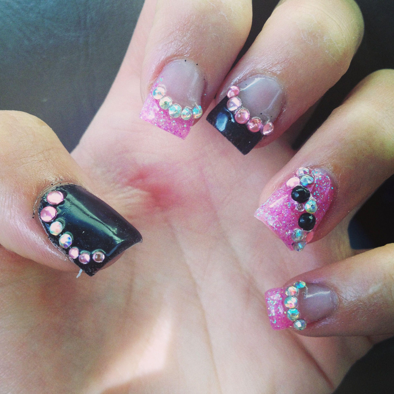Cute back to school acrylic nails!   Nail art   Pinterest   Sexy ...