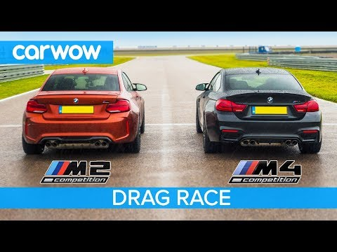Bmw M2 Comp Vs M4 Comp Drag Race Rolling Race Track Battle And Drift Off Youtube Bmw M2 Drag Race Racing