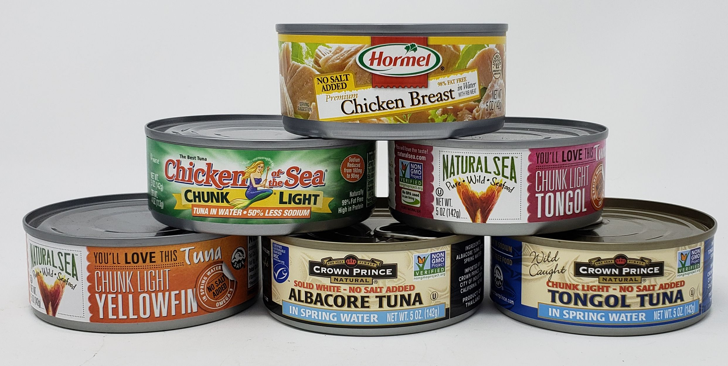 From low sodium chicken tuna and pink salmon healthy