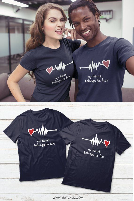 bb4cb193b Couples Shirts, Couple Shirts, Couples Matching, Husband Wife T Shirt, His  and Hers Matching Shirts,