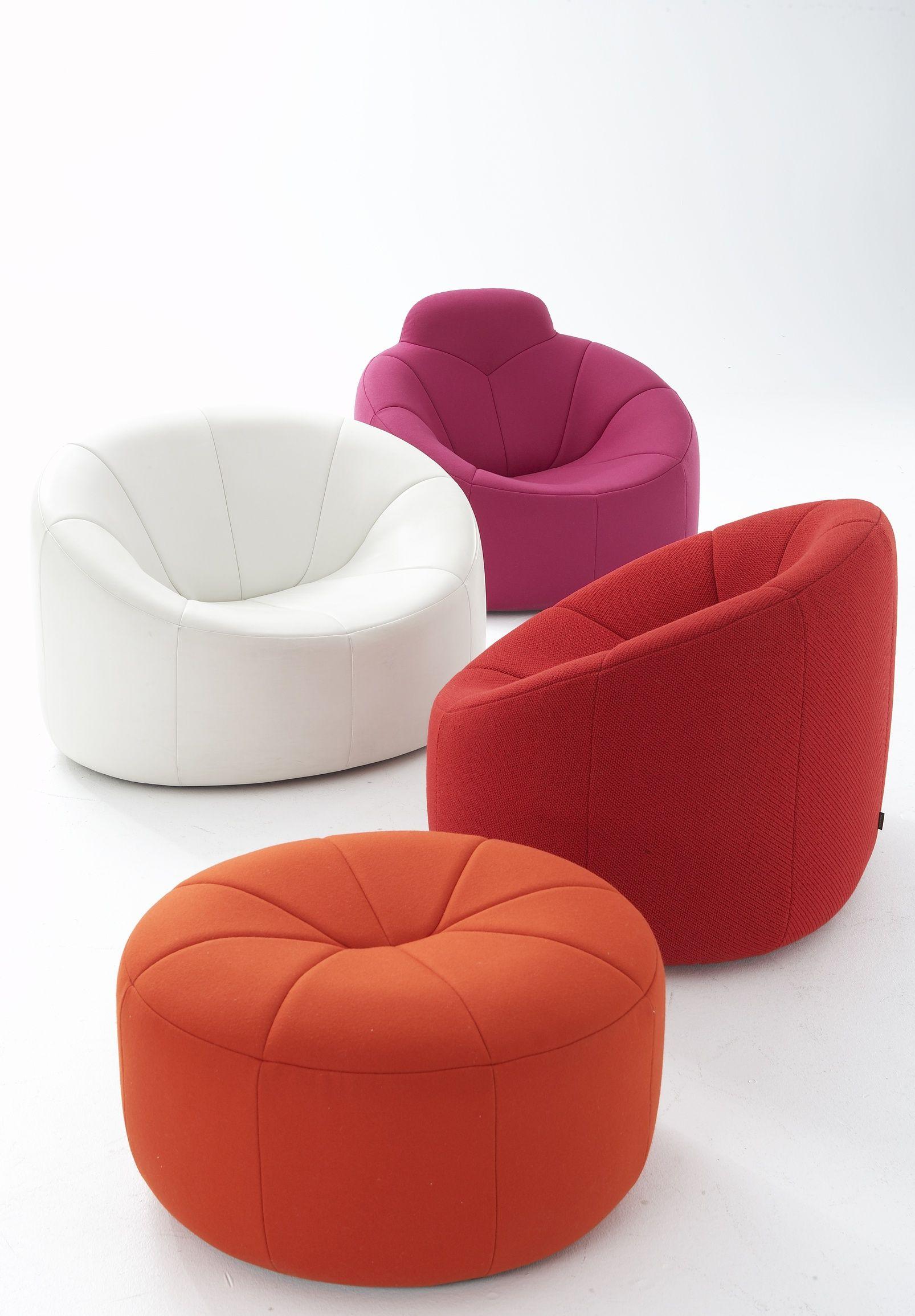 pumpkin fauteuils designer pierre paulin ligne roset. Black Bedroom Furniture Sets. Home Design Ideas