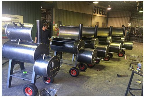 Best Offset Reverse Flow Smoker BBQ's available in Melbourne are