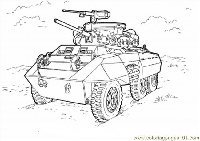Tank Stars Coloring Pages Collection