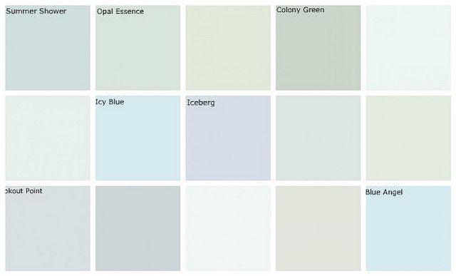 Light blue paint colors: Designers favorites | Flickr - Photo Sharing!