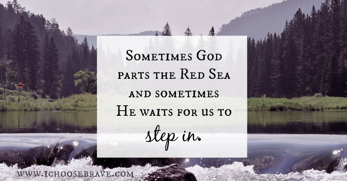 Stepping Out in Faith: When it's Time to Get Wet | How to ...