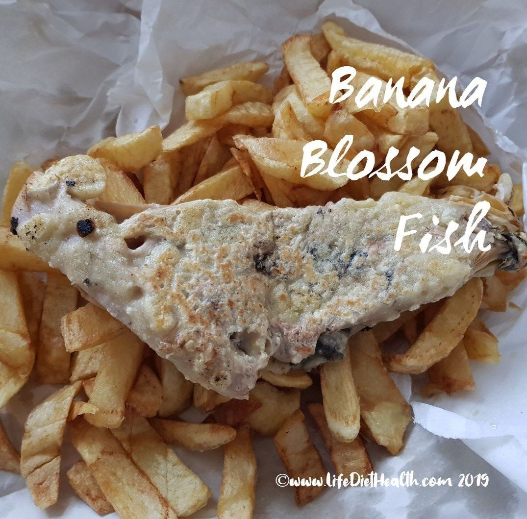Exciting Stuff! Banana Blossom Flower Fish! ⋆ Life Diet Health