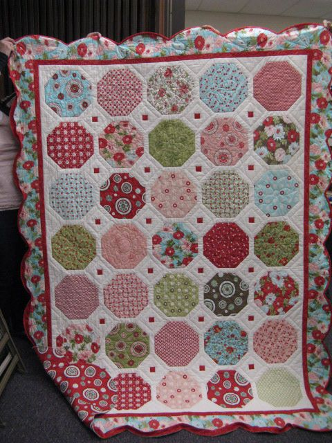 love this scrappy snowball! | A Quilty Kind of Day... | Pinterest ... : snowball quilt patterns - Adamdwight.com