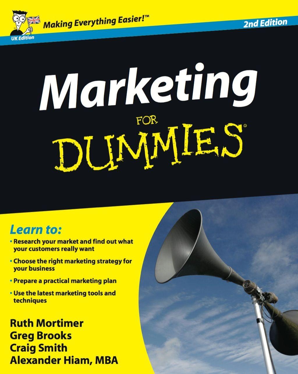 Marketing For Dummies UK Edition (eBook Rental) in 2019