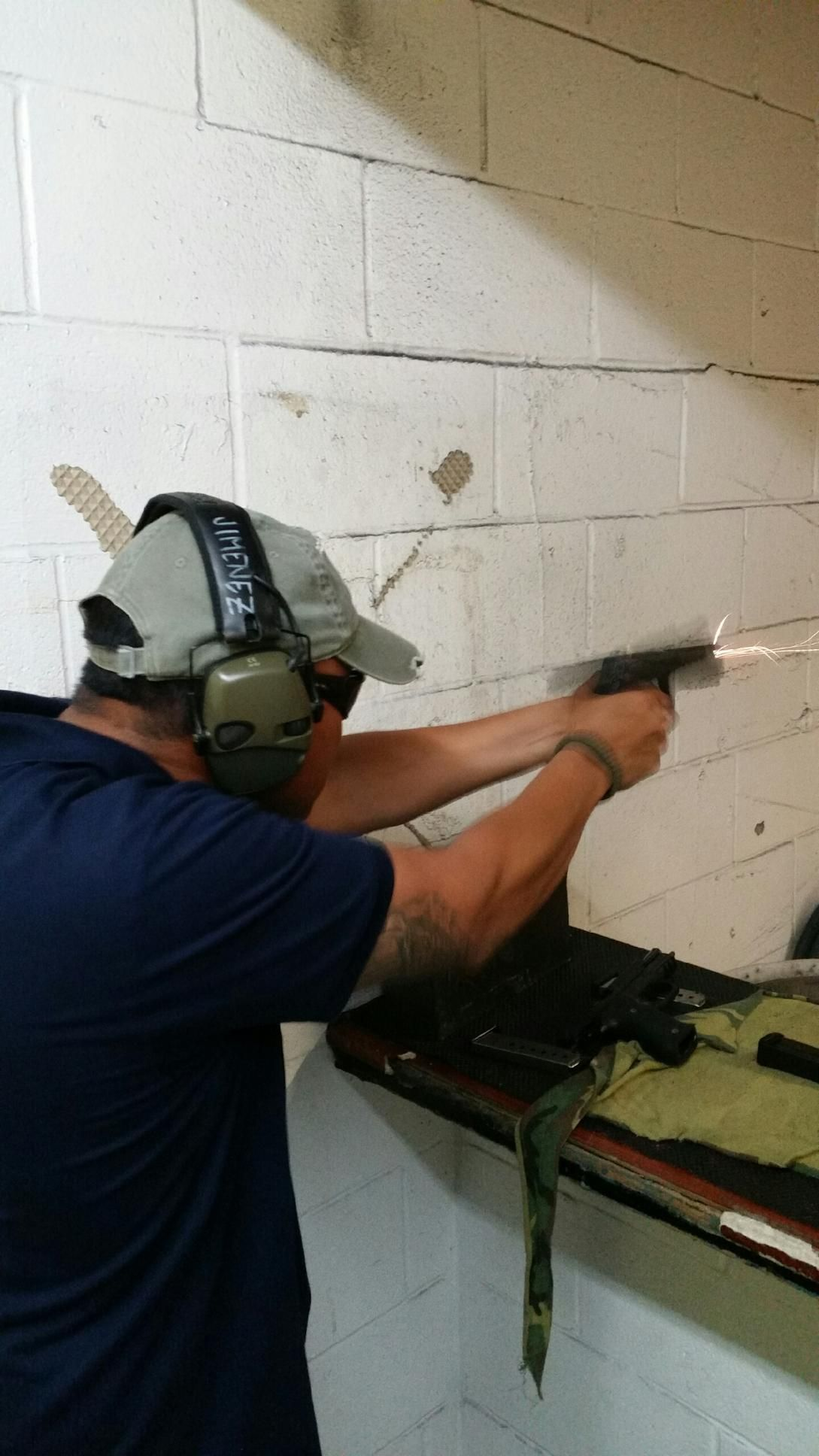 BAD ANDY good string of fire. Shiloh Shooting Range.