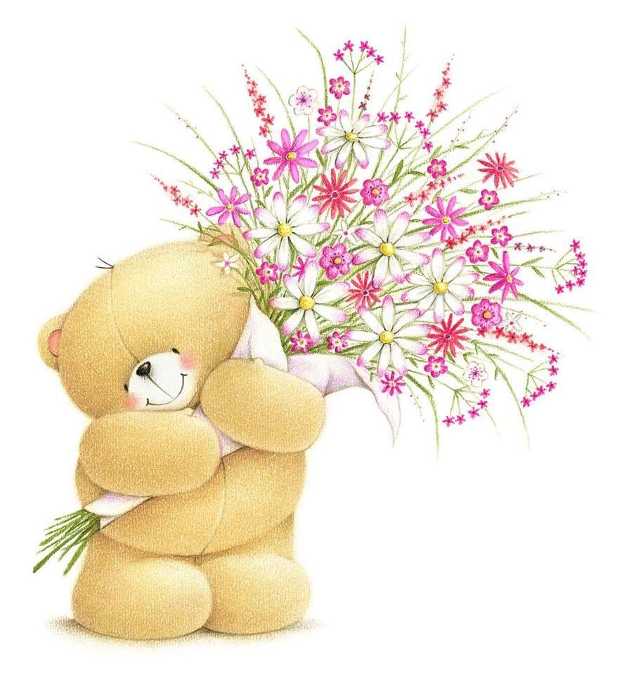 Pin by grazia merlo on forever friends pinterest bears tatty big bunch of flowers forever friends izmirmasajfo