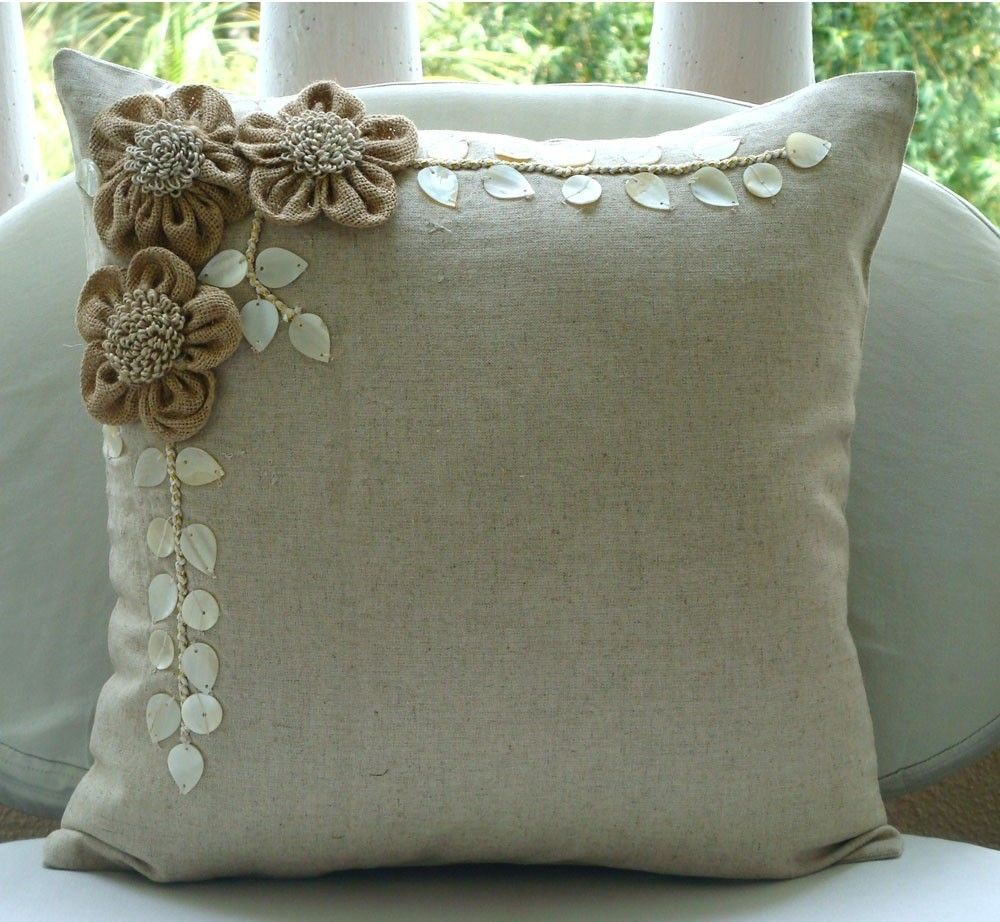 5 classy jute decorative items for interiors home for Designer accent pillows
