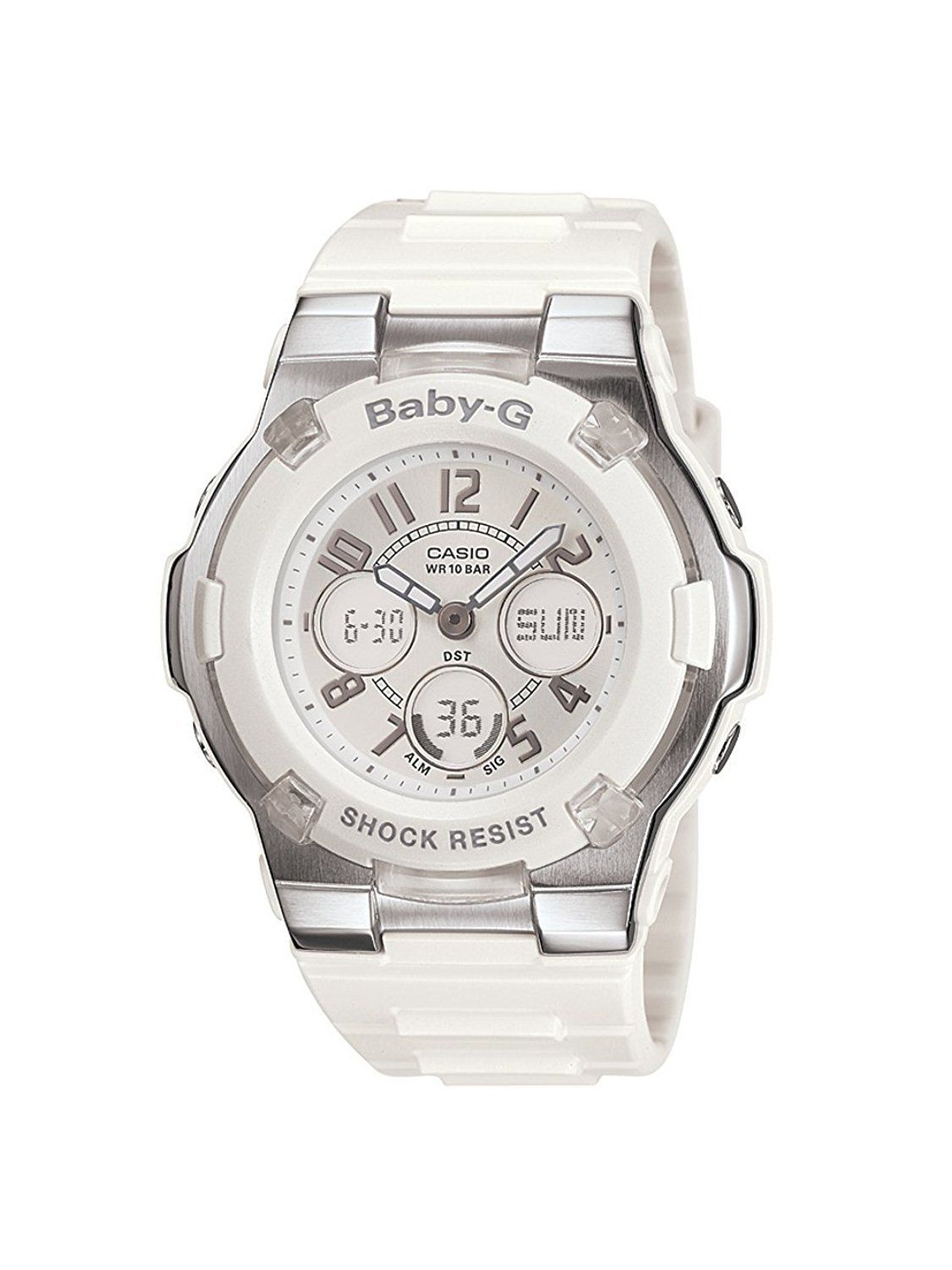 Casio Baby G White Analog Mens Fashion Pinterest Watches Bga 180 7b1 Https Dbargainscom