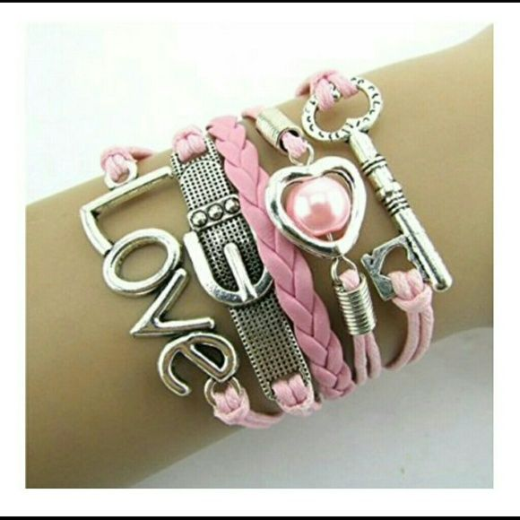 Love Charm Bracelet Adorable! Great as a gift.. Jewelry Bracelets