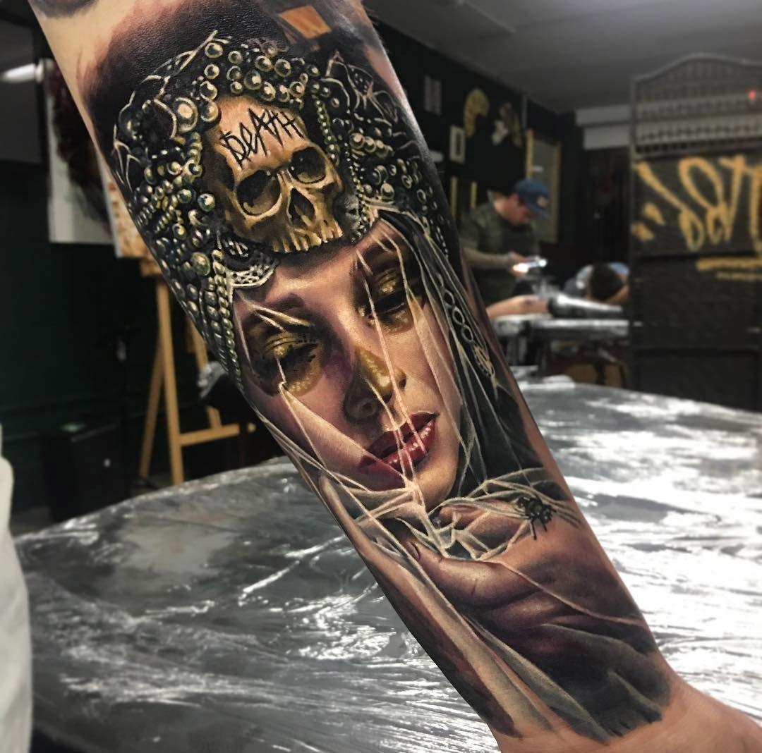 Tatuajes Sobre La Vida Y La Muerte