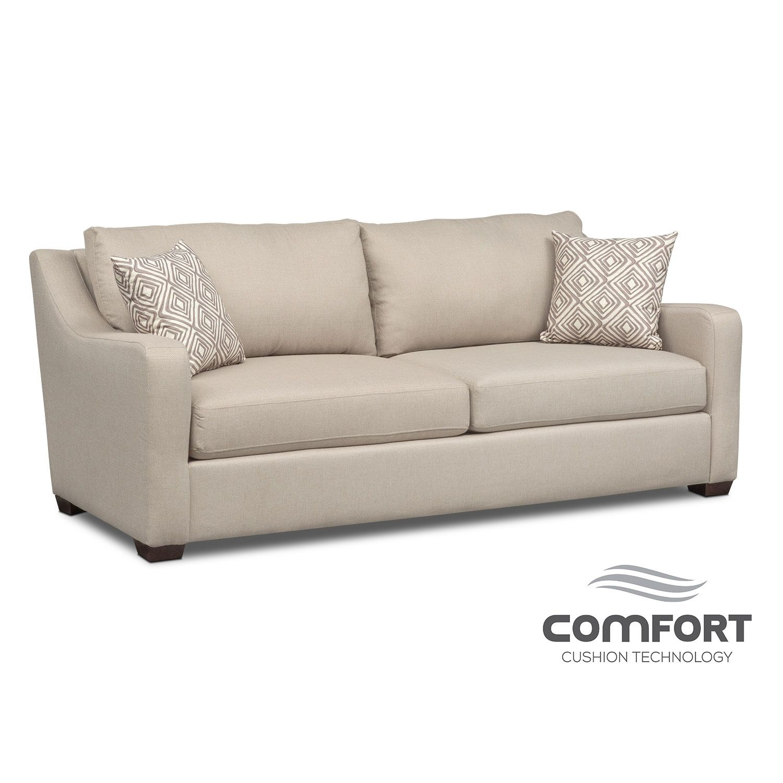 Best Living Room Furniture Jules Comfort Sofa Cream Sofa 400 x 300
