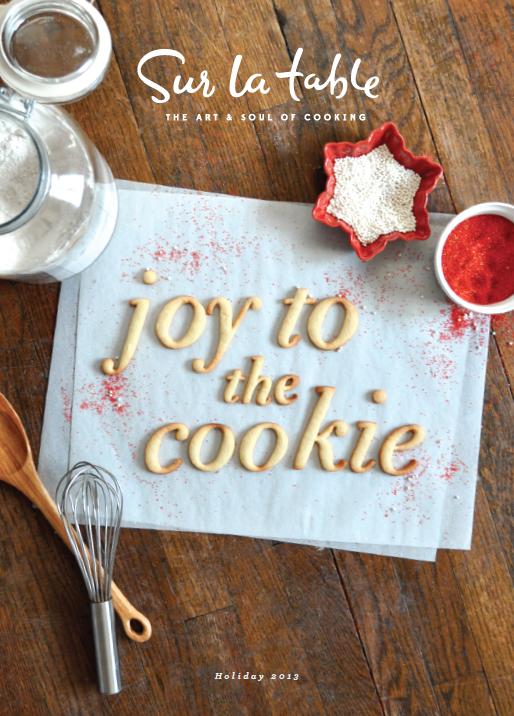 Sur la Table - Holiday Catalog 2013 by Anna Marshall, via Behance