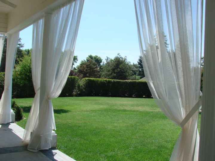 Mosquito Netting Curtains For The Deck Condo Ideas Porch