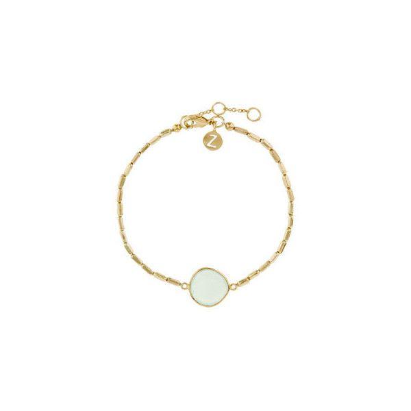 Accessorize Aura Precious Stone Bracelet ($29) found on Polyvore featuring jewelry, bracelets, precious stone jewelry, bracelet jewelry, bracelet bangle, chain bracelet and accessorize jewellery