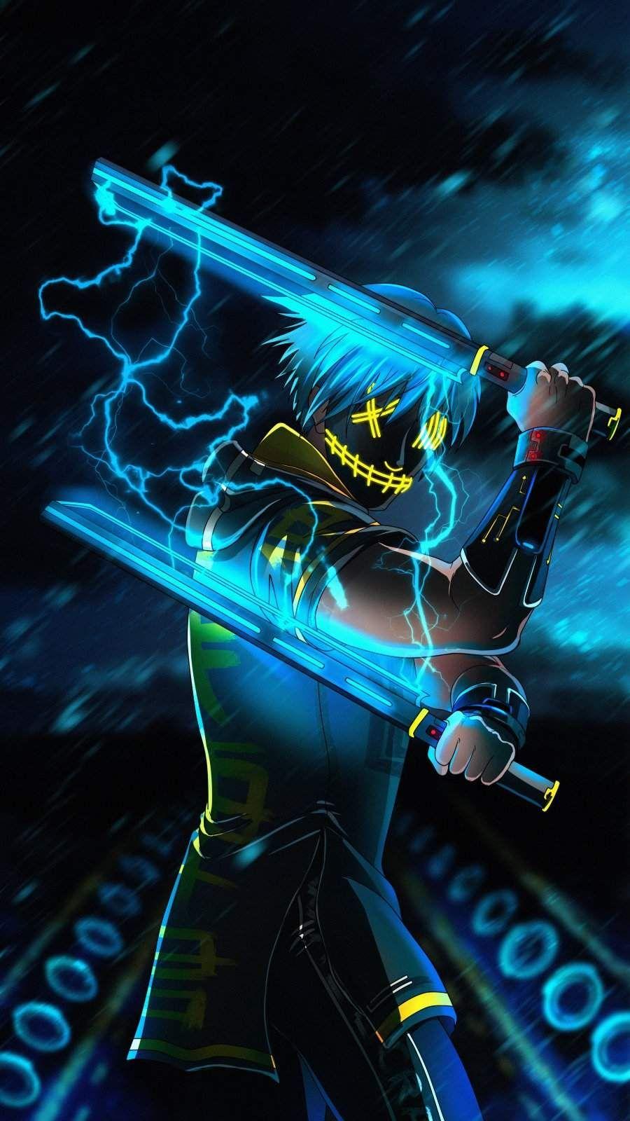 Sword Master Anime iPhone Wallpaper - iPhone Wallpapers