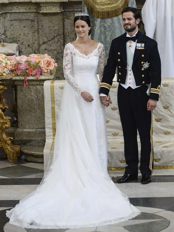 vestido de novia sofía hellqvist de suecia | wedding dress