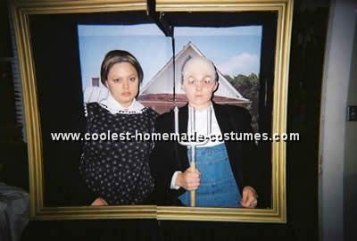 Take A Look At This Free Halloween Costume Idea For An American Gothic Painting Submitted To Our Annual Contest