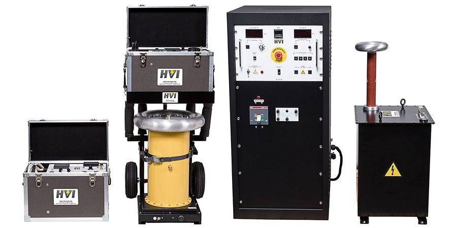 Hipotential Test Set Ac Dc Vlf Best Insulation Electricity System Testing