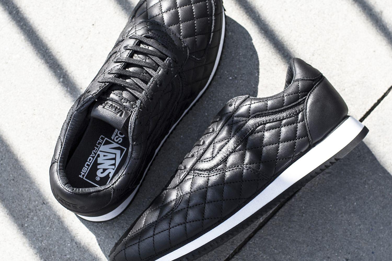 Blends   Vans Vault Partner for Quilted Leather Runner Collab ... f332fb6a2